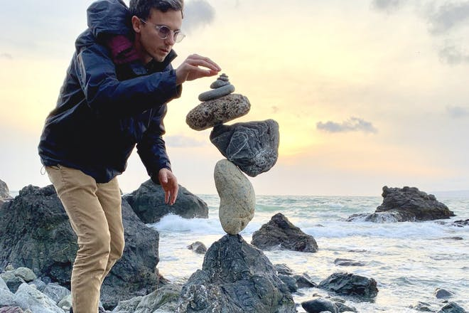 The Mindful Art of Rock Balancing